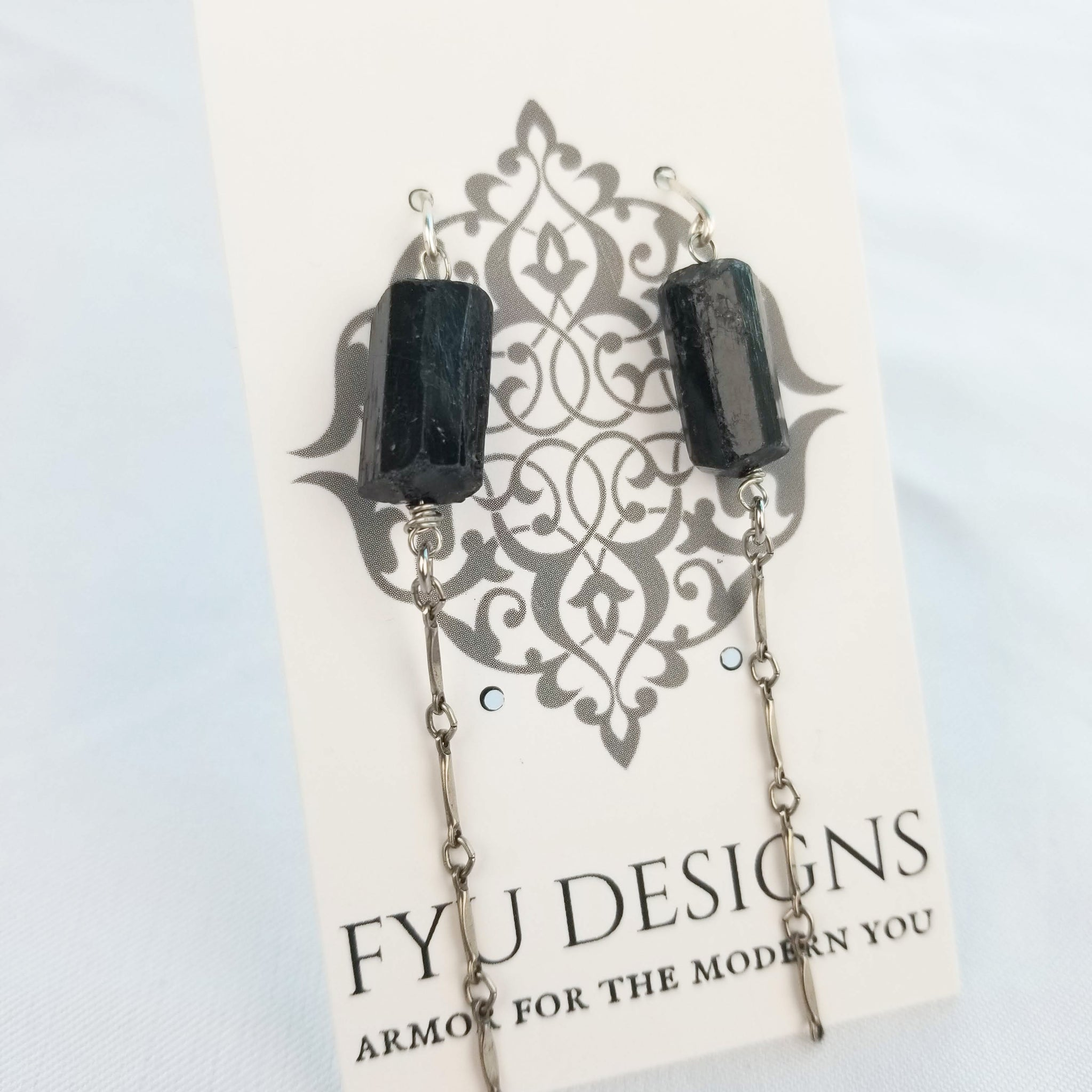 The Realign Earrings | Silver - FYU DESIGNS