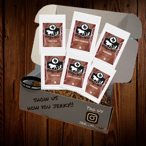 Six Pack On The Go Sample Pack - Jerk My Beef