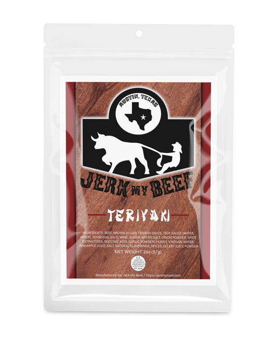 Teriyaki (2oz bag) - Jerk My Beef
