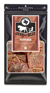 Texas Size--Peppered (16oz. Bag) - Jerk My Beef