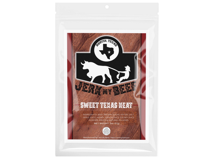 Sweet Texas Heat (2oz bag) - Jerk My Beef