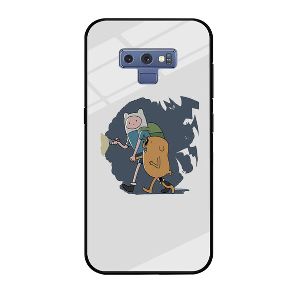 Adventure Time Jake Finn And Jake Looking For Something Samsung Galaxy Note 9 Case - carneyforia