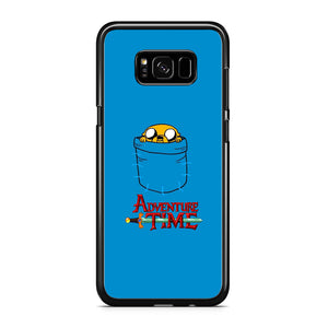 Adventure Time Jake Hungry In The Pocket Samsung Galaxy S8 Case - carneyforia
