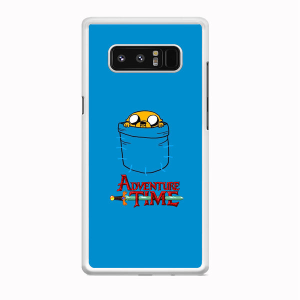 Adventure Time Jake Hungry In The Pocket Samsung Galaxy Note 8 Case - carneyforia