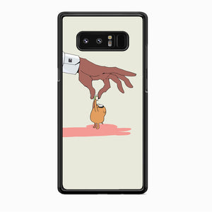Adventure Time Jake Received Something Samsung Galaxy Note 8 Case - carneyforia