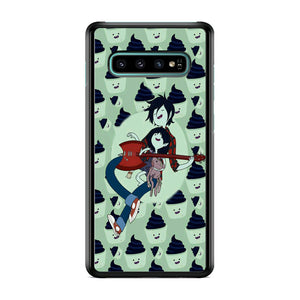 Adventure Time Marshall Lee Playing Guitar Samsung Galaxy S10 Plus Case