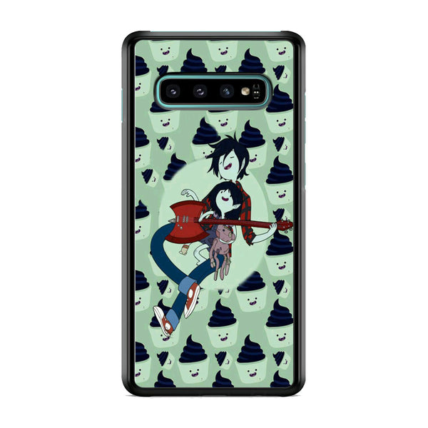 Adventure Time Marshall Lee Playing Guitar Samsung Galaxy S10 Case