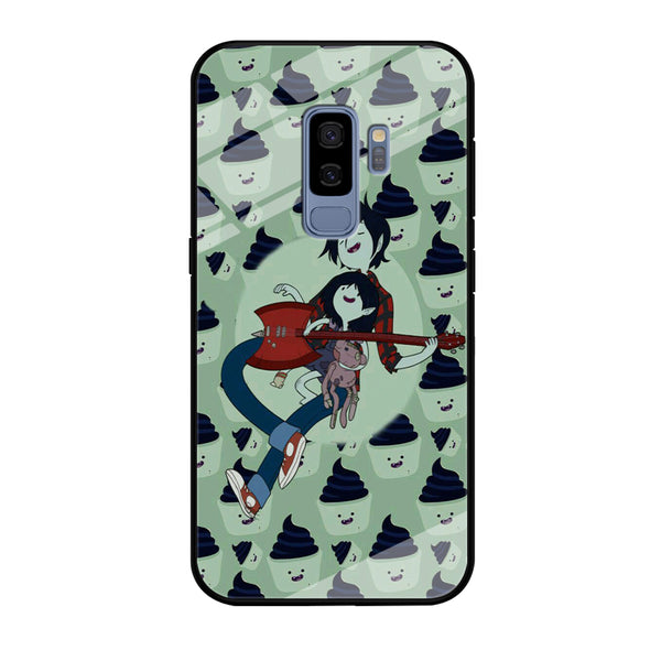 Adventure Time Marshall Lee Playing Guitar Samsung Galaxy S9 Plus Case