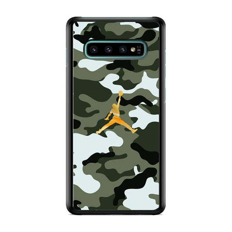 Air Jordan Camo Forest Beast Samsung Galaxy S10 Plus Case