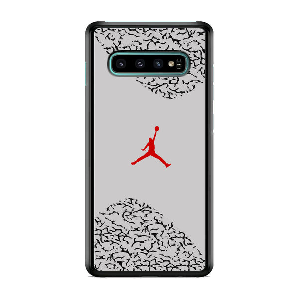 Air Jordan Cement Grey Samsung Galaxy S10 Case