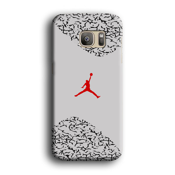 Air Jordan Cement Grey Samsung Galaxy S7 Case