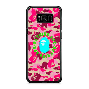 Bape Camo Spark in Twilight Samsung Galaxy S8 Case