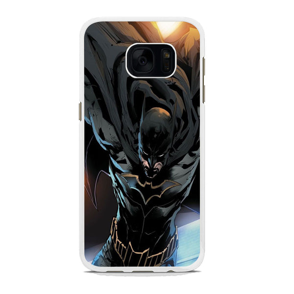 Batman Flying Cloak Samsung Galaxy S7 Edge Case - carneyforia