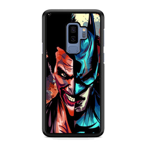 Batman Half Face Joker Samsung Galaxy S9 Plus Case
