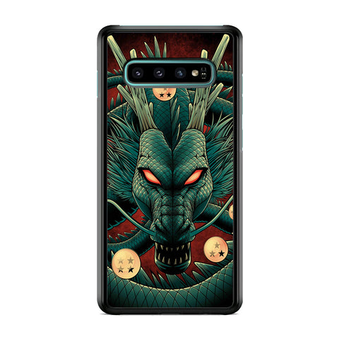 Dragon Ball Z Shenron Red Eye Samsung Galaxy S10 Plus Case