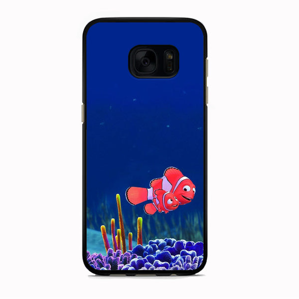 Finding Nemo And Daddy Samsung Galaxy S7 Edge Case - carneyforia