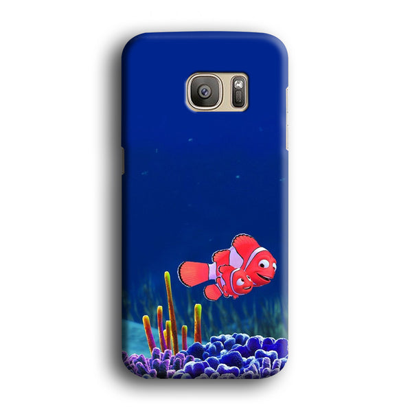 Finding Nemo And Daddy Samsung Galaxy S7 Case - carneyforia
