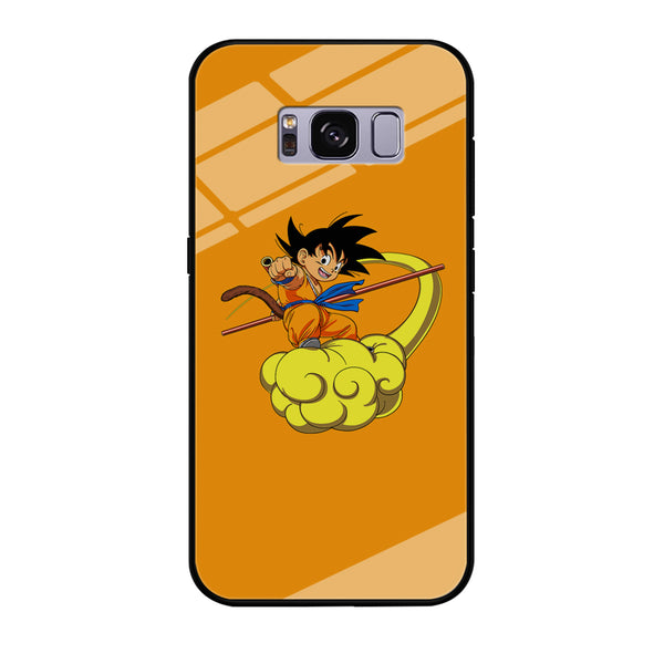 Goku Flying With Kinton Cloud Samsung Galaxy S8 Plus Case