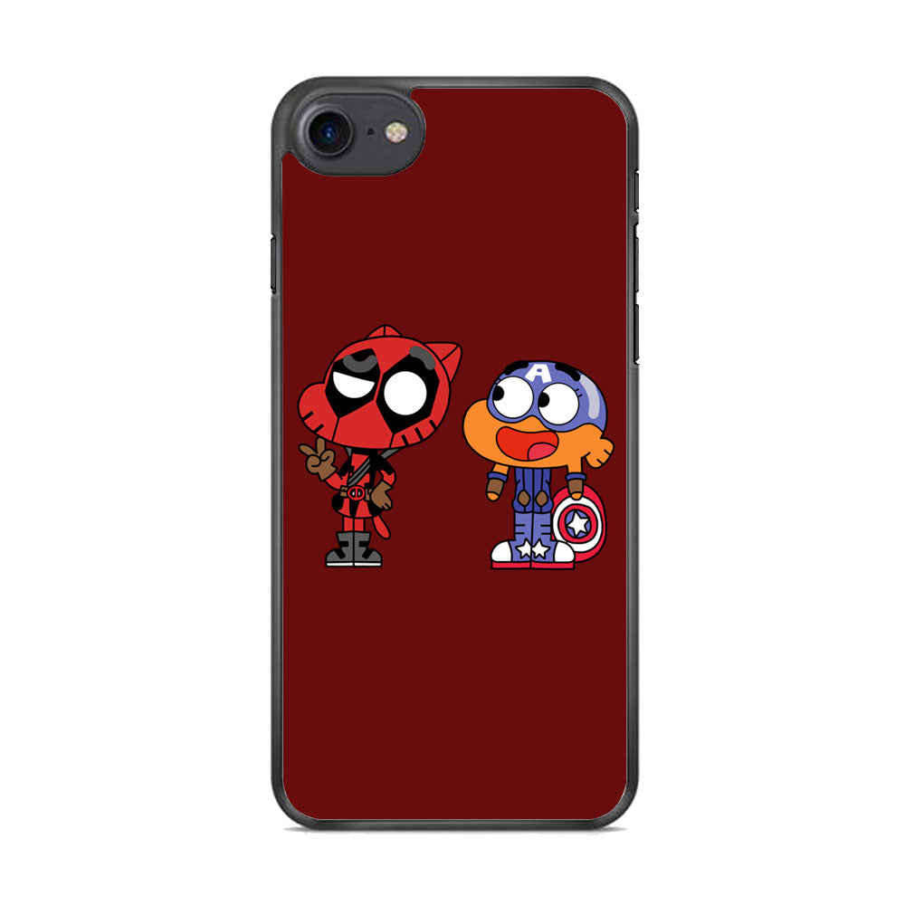 Gumall And Darwin Marvel iPhone 7 Case