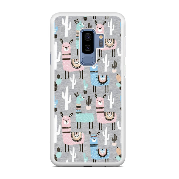 Ilama and Cactus Field Samsung Galaxy S9 Plus Case