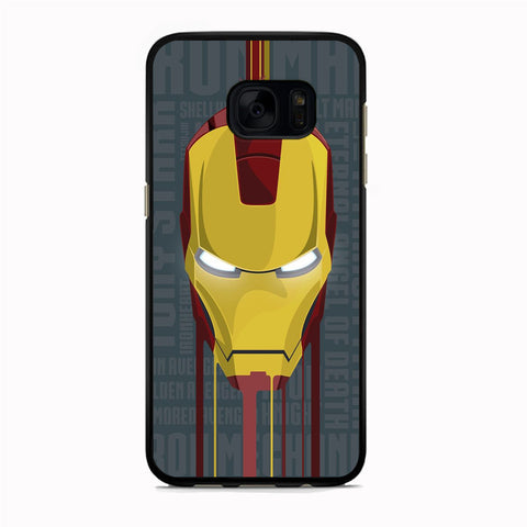 Ironman Mask Samsung Galaxy S7 Case