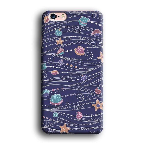 Line in Ocean Life  iPhone 6 | 6s Case - carneyforia