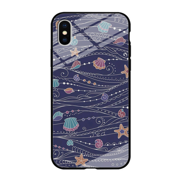 Line in Ocean Life iPhone XS MAX Case
