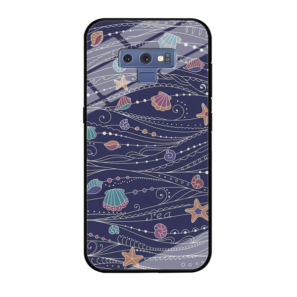 Line in Ocean Life Samsung Galaxy Note 9 Case