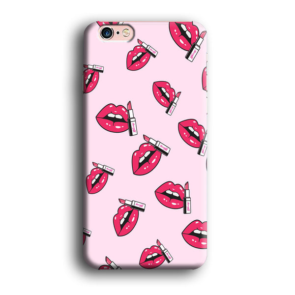 Lips Sparkle with Lipstick iPhone 6 Plus | 6s Plus Case - carneyforia