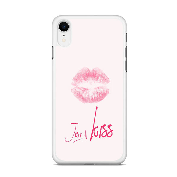 Lips and Just Kiss for It iPhone XR Case