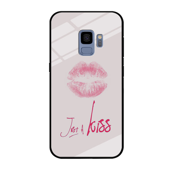 Lips and Just Kiss for It Samsung Galaxy S9 Case
