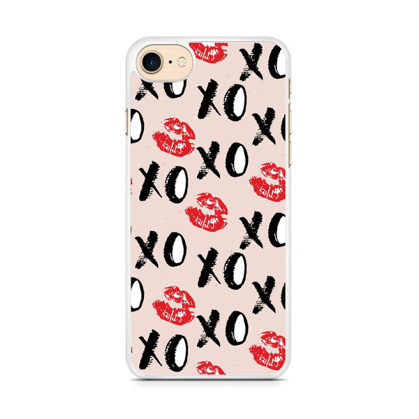 Lips and Xoxo iPhone 7 Case - carneyforia