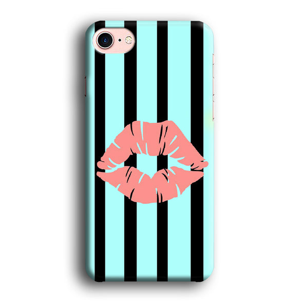 Lips at Strip iPhone 7 Case - carneyforia