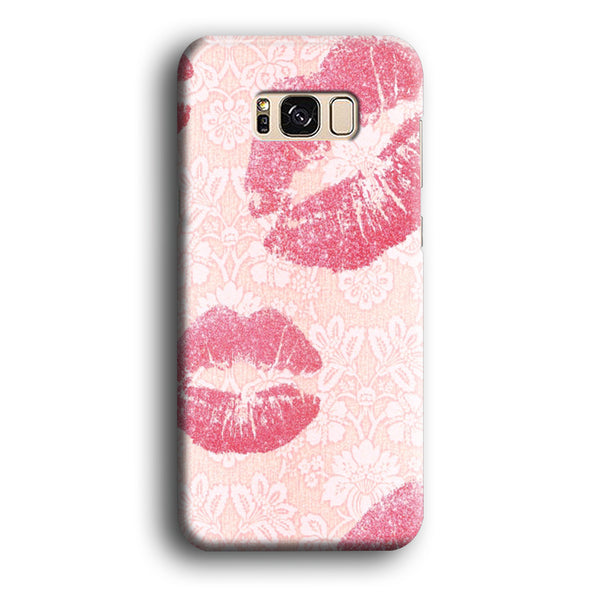 Lips in Dinner Moment Samsung Galaxy S8 Case