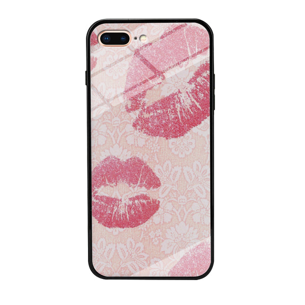 Lips in Dinner Moment iPhone 7 Plus Case - carneyforia