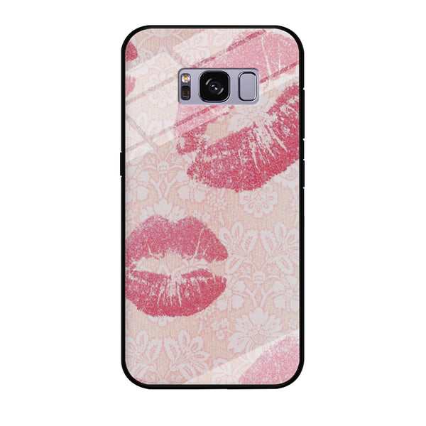 Lips in Dinner Moment Samsung Galaxy S8 Plus Case