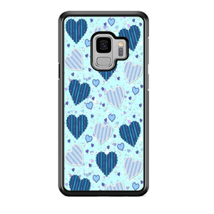 Love Blue Theme Samsung Galaxy S9 Case
