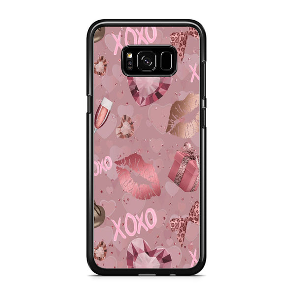 Love Crystal Xoxo Lips Samsung Galaxy S8 Case