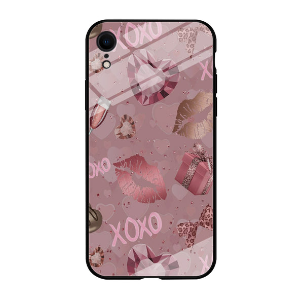 Love Crystal Xoxo Lips iPhone XR Case