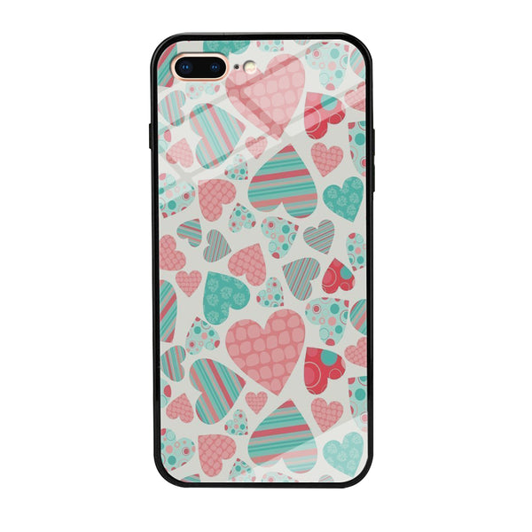 Love in Strip, Rock and Dot iPhone 7 Plus Case
