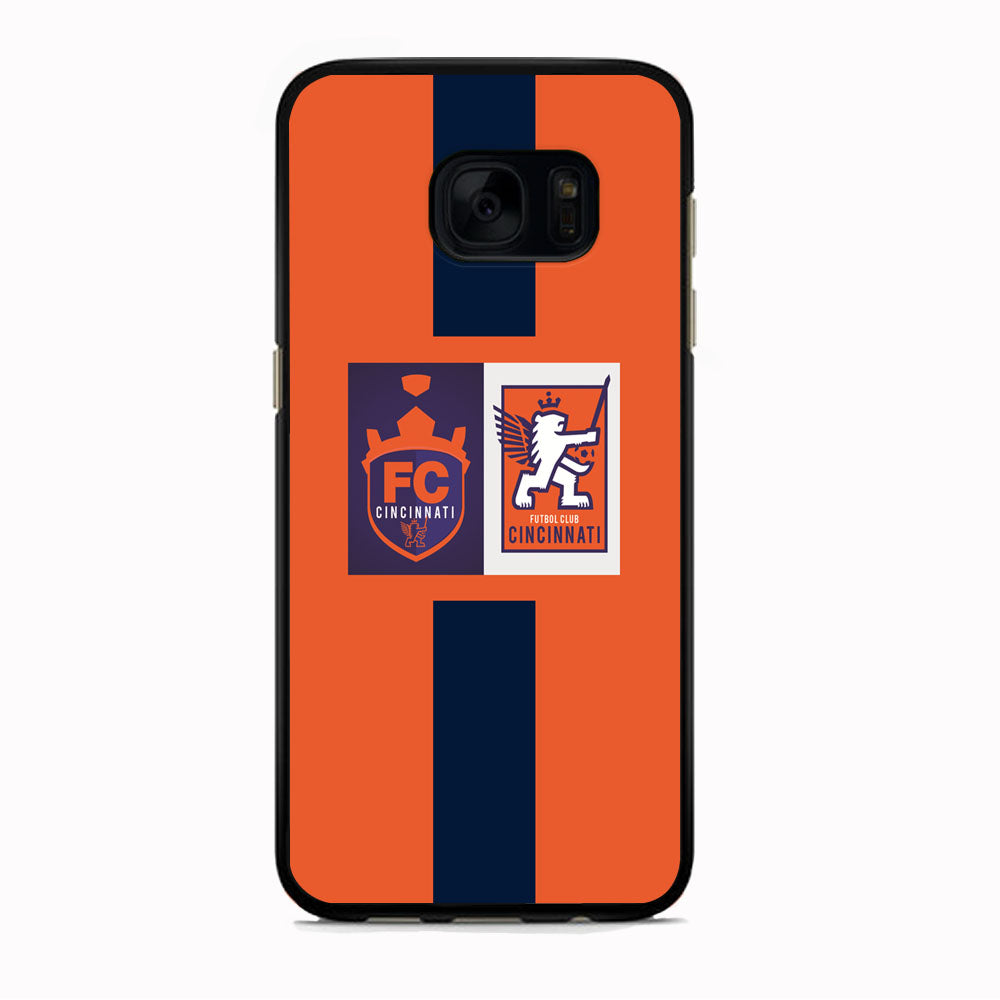 MLS Cincinnati Two Logo Samsung Galaxy S7 Case