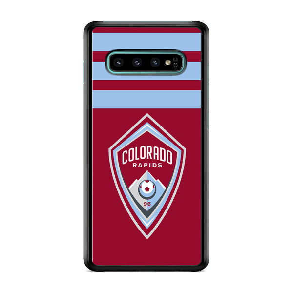MLS Colorado Rapids Logo Stripe Samsung Galaxy S10 Case