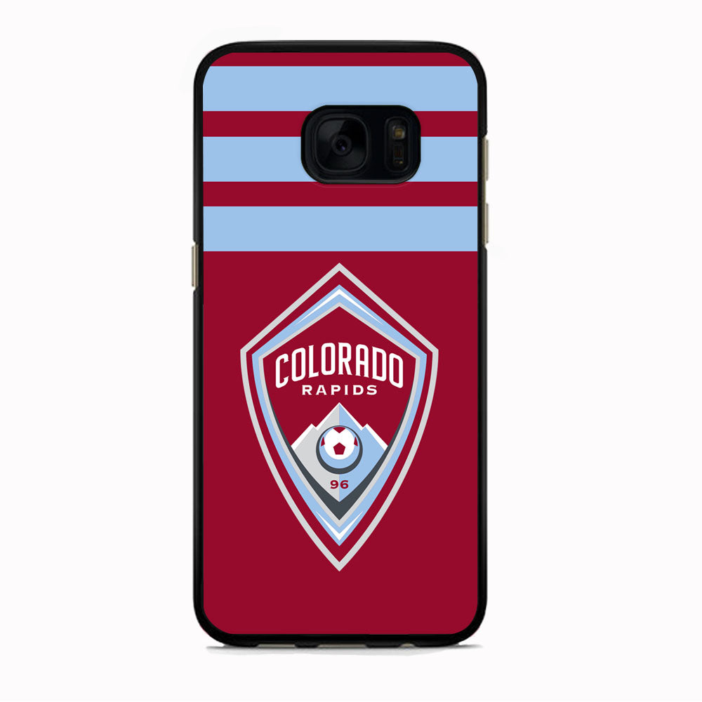 MLS Colorado Rapids Logo Stripe Samsung Galaxy S7 Case