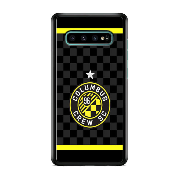 MLS Columbus Crew SC Flags Samsung Galaxy S10 Case