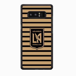 MLS Los Angeles LAFC Black Gold Samsung Galaxy Note 8 Case