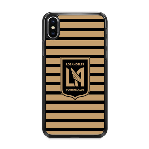 MLS Los Angeles LAFC Black Gold iPhone XS Case