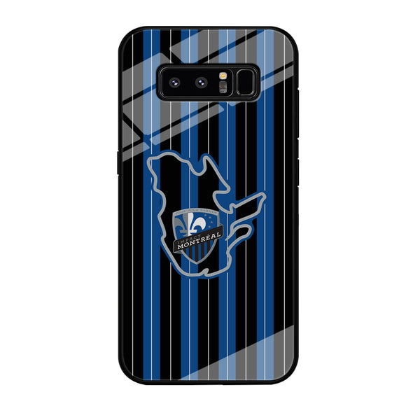 MLS Montreal Fc Black And Blue Samsung Galaxy Note 8 Case