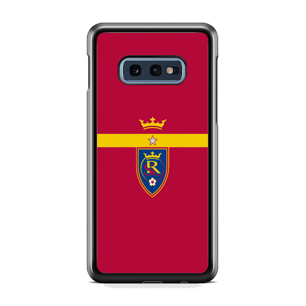 MLS Real Salt Lake King Logo Samsung Galaxy S10E Case