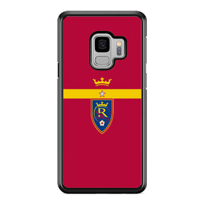MLS Real Salt Lake King Logo Samsung Galaxy S9 Case
