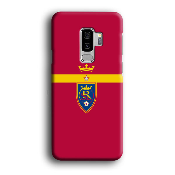 MLS Real Salt Lake King Logo Samsung Galaxy S9 Plus Case